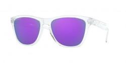 Oakley OO 9013 FROGSKINS 9013H7  POLISHED CLEAR prizm violet