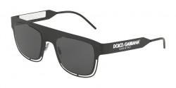 Dolce&Gabbana DG 2232  110687  MATTE BLACK grey