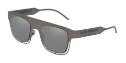 Dolce&Gabbana DG 2232  12866G  DARK GUNMETAL light grey mirror black