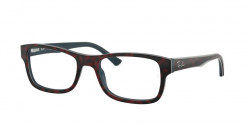 Ray-Ban RB 5268 5973  TOP RED HAVANA ON OPAL BLUE