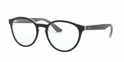 Ray-Ban RB 5380  2034  TOP BLACK ON TRANSPARENT