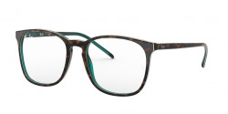 Ray-Ban RB 5387 5974  TOP BROWN OH HAVANA GREEN TRAS