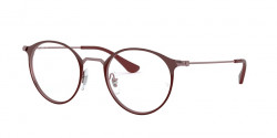 Ray-Ban RB 6378 3070  TOP BORDEAUX ON TRASP BORD