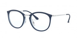 Ray-Ban RB 7140 5972  TOP BLUE ON TRASP BLUE