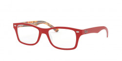 Ray-Ban Junior RY 1531 3804  RED ON TEXTURE RED BROWN