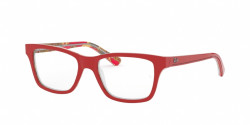Ray-Ban Junior RY 1536 3804  RED ON TEXTURE RED BROWN
