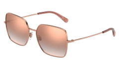 Dolce&Gabbana DG 2242 12986F  PINK GOLD,  gradient pink mirror pink