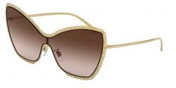 Dolce&Gabbana DG 2240 02/13  GOLD,  brown gradient
