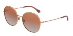 Dolce&Gabbana DG 2243 12986F  PINK GOLD, gradient pink mirror pink