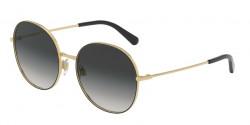 Dolce&Gabbana DG 2243 13348G  GOLD/BLACK, grey gradient