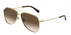 Dolce&Gabbana DG 2244 02/13  GOLD,  brown gradient