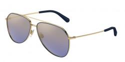 Dolce&Gabbana DG 2244 133733  GOLD/BLUE,  blue mirror gradient gold