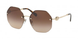 Bvlgari BV 6122 B  278/13  PALE GOLD brown gradient