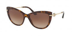 Bvlgari BV 8218 B  504/13  DARK HAVANA brown gradient