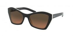 Prada  PR 07 XS MILLENNIALS 5460AO  TOP BLACK/IVORY orange gradient light grey