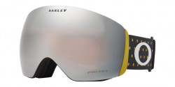 Gogle OAKLEY OO 7050 FLIGHT DECK 705068 BLOCKOGRAPHY BURNISHED prizm snow black iridium