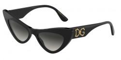 Dolce&Gabbana DG 4368  501/8G  BLACK  grey gradient