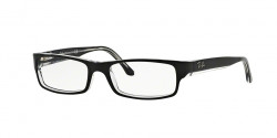 Ray-Ban RB 5114 2034  TOP BLACK ON TRANSPARENT