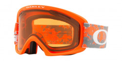 Gogle OAKLEY OO 7045 O FRAME 2.0 XL O2 704539  ARCTIC FRACTURE ORANGE  kolor soczewek: persimmon & dark grey