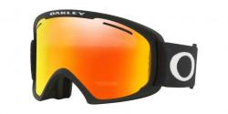 Gogle OAKLEY OO 7045 O FRAME 2.0 XL 704545  MATTE BLACK  kolor soczewek: fire iridium & persimmon