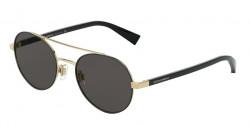Dolce&Gabbana DG 2245 131187  GOLD/MATTE BLACK grey