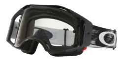 Gogle Oakley OO 7046 AIRBRAKE MX 57-979  JET BLACK SPEED clear