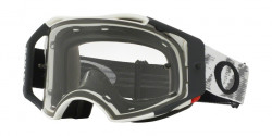 Gogle Oakley OO 7046 AIRBRAKE MX 57-980  MATTE WHITE SPEED clear