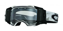 Gogle Oakley OO 7046 AIRBRAKE MX 57-990  MATTE WHITE SPEED RR clear