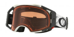 Gogle Oakley OO 7046 AIRBRAKE MX 704656  MATTE WHITE SPEED prizm mx bronze