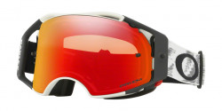 Gogle Oakley OO 7046 AIRBRAKE MX 704657  MATTE WHITE SPEED prizm mx torch iridium