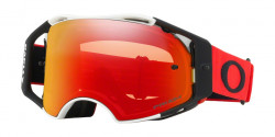 Gogle Oakley OO 7046 AIRBRAKE MX 704660  RED WHITE prizm mx torch iridium