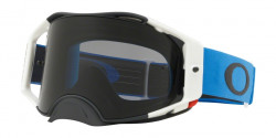 Gogle Oakley OO 7046 AIRBRAKE MX 704673  BLUE GUNMETAL dark grey