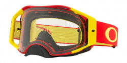 Gogle Oakley OO 7046 AIRBRAKE MX 704674  RED YELLOW clear