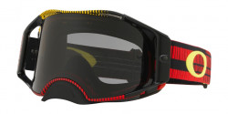 Gogle Oakley OO 7046 AIRBRAKE MX 704675  FREQUENCY RED YELLOW dark grey