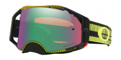 Gogle Oakley OO 7046 AIRBRAKE MX 704676  FREQUENCY GREEN YELLOW prizm mx jade iridium