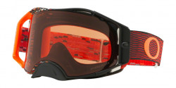 Gogle Oakley OO 7046 AIRBRAKE MX 704678  EQUALIZER RED ORANGE  prizm mx bronze