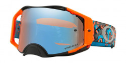 Gogle Oakley OO 7046 AIRBRAKE MX 704679  CAMO VINE NIGHT ORANGE BLUE  prizm mx sapphire iridium
