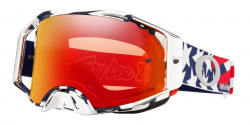 Gogle Oakley OO 7046 AIRBRAKE MX 704681  TLD PATRIOT RWB prizm mx torch iridium