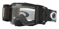 Gogle Oakley OO 7087 FRONT LINE MX 708704  RACE READY MATTE BLACK roll off clear