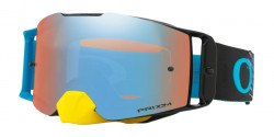 Gogle Oakley OO 7087 FRONT LINE MX 708733  DISSOLVE YELLOW BLUE prizm mx sapphire