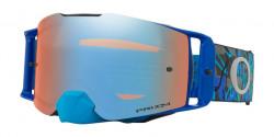 Gogle Oakley OO 7087 FRONT LINE MX 708736  CAMO VINE NIGHT BLUE prizm mx sapphire iridium