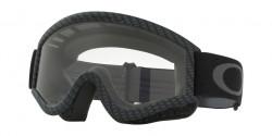 Gogle Oakley OO 7008 L-FRAME MX 01-230 CARBON FIBER clear