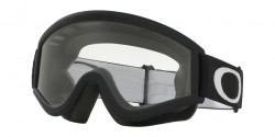 Gogle Oakley OO 7008 L-FRAME MX 01-247   BLACK/CLEAR clear