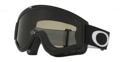 Gogle Oakley OO 7008 L-FRAME MX 01-631 JET BLACK  grey