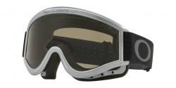 Gogle Oakley OO 7008 L-FRAME MX 700804  SILVER CHROME dark grey