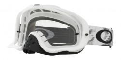 Gogle Oakley OO 7025 CROWBAR MX 57-952  MATTE WHITE SPEED W clear