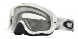 Gogle Oakley OO 7025 CROWBAR MX 59-457  MATTE WHITE SPEED dual clear