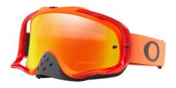Gogle Oakley OO 7025 CROWBAR MX 702568  RED ORANGE fire iridium