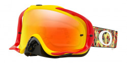 Gogle Oakley OO 7025 CROWBAR MX 702575  CAMO VINE JUNGLE RED YELLOW fire iridium