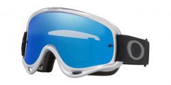 Gogle Oakley OO 7029 O-FRAME MX 702959  SILVER CHROME black ice & clear
